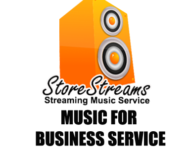 StoreStreams Music For Business Service